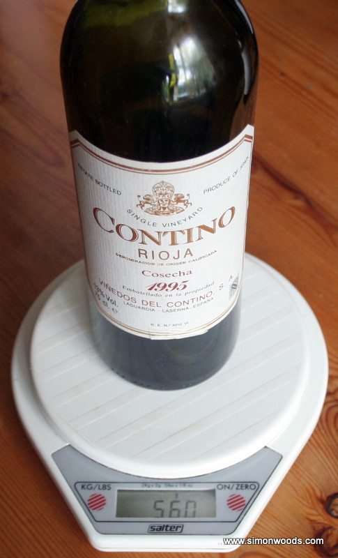 Contino weight