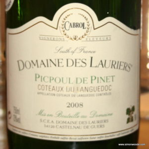 Lauriers Picpoul