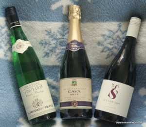 Xmas Trio 300x262 Three wines for Christmas
