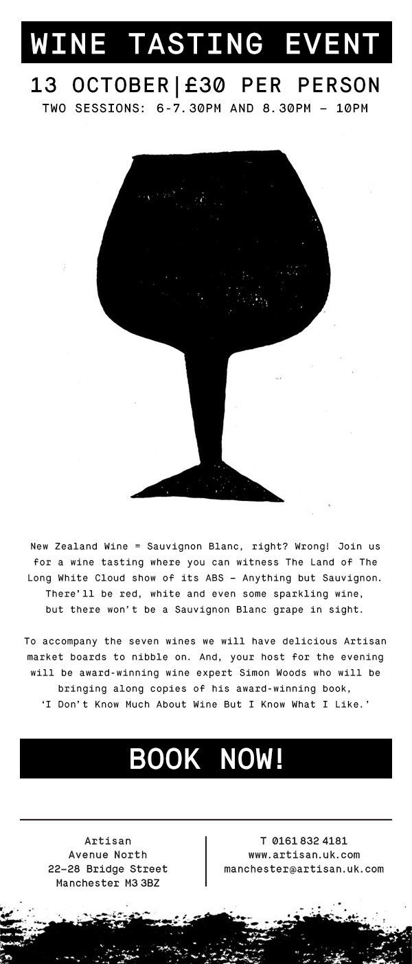 NZ Artisan tasting