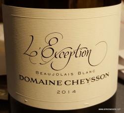 Cheysson Bojo Blanc
