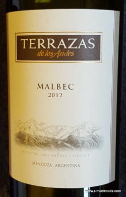 Terrazzas Malbec