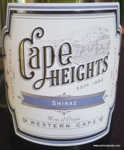 Cape Heights Shiraz
