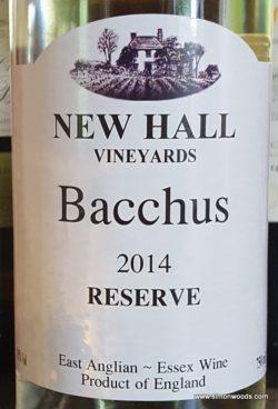 New Hall Bacchus