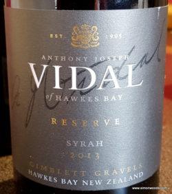 Vidal Syrah